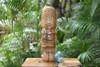 "Love Tiki Totem 12"" Natural - Tropical Decor"