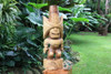 "Ku Kona-Style Tiki 32"" - Natural | Traditional Hawaii Museum Replica"