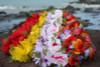 """Silk Leis Hibiscus w/ Leaves Assorted, 6 Pack 18"""" - Hawaii Silk Leis"""