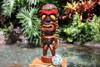 "Lucky Tiki God 20"" - Hand Carved - Hawaii Treasure"