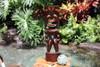 "Big Kahuna Tiki 20"" - Golden Oak Finish - Tiki Trophies"