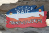 """""""LUCKY'S BAIT, Minnows-Worms"""" LAKE SIGN 14"""" - LAKE HOUSE DECOR"""