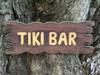 """""""TIKI BAR"""" SIGN DRIFT WOOD 20"""" - ISLAND HOME DECOR"""