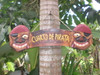"""CUARTO DE PIRATA"" PIRATE SIGN 24"" - PIRATE DECOR"