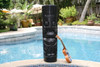 "EASTER ISLAND TIKI BLACK TIKI TOTEM - 40"" HAWAIIAN DECOR"