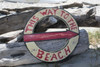 """THIS WAY TO THE BEACH"" NAUTICAL SIGN 16"" - BEACH DECOR"