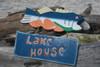 """LAKE HOUSE"" LAKE HOUSE SIGN 15"" - NAUTICAL DECOR"