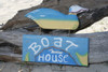 """BOAT HOUSE"" LAKE HOUSE SIGN 15"" - NAUTICAL DECOR 2"