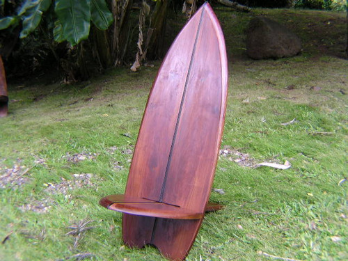 SHORT BOARD TEAK SURF CHAIR 1-STRINGER