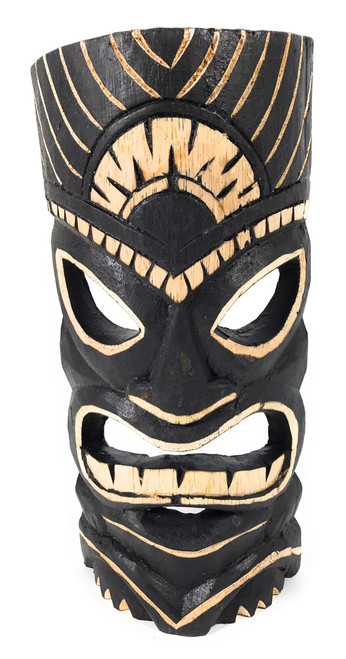 "Warrior Tiki Mask 12"" - Tribal Tiki Art 