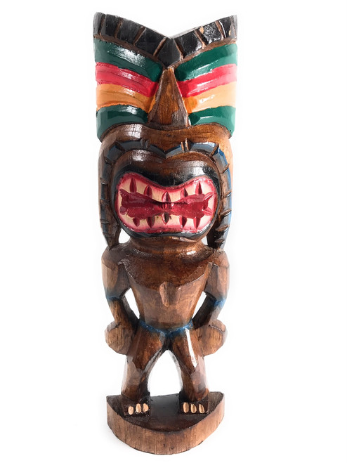 "Love Tiki God 12"" - Hand Carved - Hawaii Treasure 
