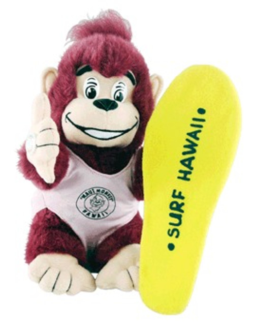 "SURFER GIRL ""NANI"" MAUI MONKEY PLUSH - BABY TOYS"