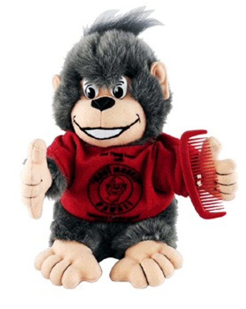 "RED SHIRT ""ALOHA"" MAUI MONKEY PLUSH - BABY TOYS"
