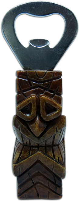 Bottle Opener - Tikimaster Love Tiki 4"