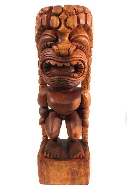 "Traditional Kanaloa Tiki 24"" - Hawaii Museum - Hawaii Heritage | #bla605660"