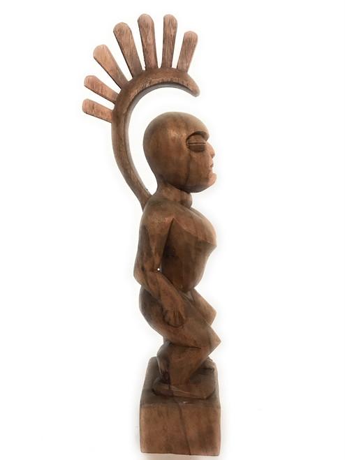 "Tiki Goddess Pele - 16"" Muse De L' Homme - Hawaii Heritage | #bla602340"