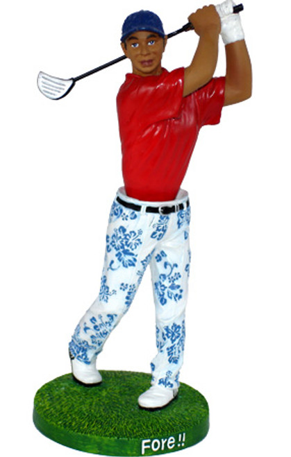 "ISLAND DASHBOARD ""GOLFER"" FORE! - HAWAIIAN GIFTS"