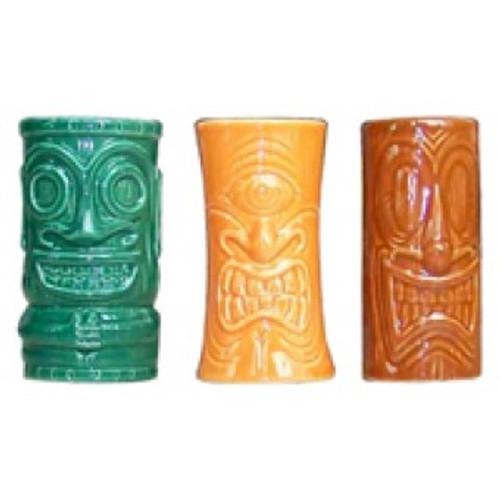 Tiki Shot Mug - Tiki Set of 3 | #kc70300