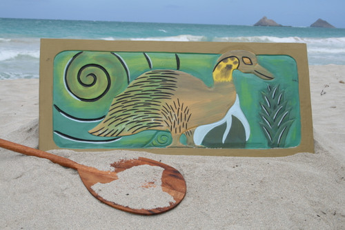 "HAWAIIAN GEESE ""NENE"" 30"" X 15"" - ENDANGERED SPECIES"