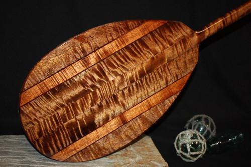 "Super Premium Koa Paddle 50"" T-Handle - Made In Hawaii   #KOA4002"