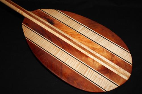 "Classic Surf Collection Koa-Maple Outrigger Oar 60"""