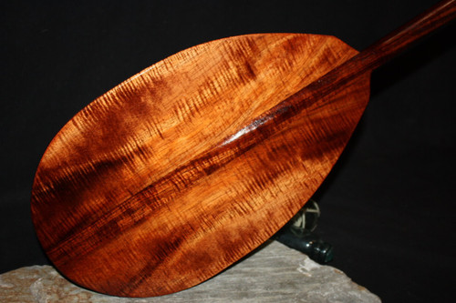 "AAA Tiger Curls Koa Paddle 50"" T-Handle 