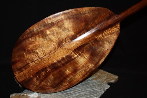 """Premium Hawaiian Koa Paddle 50"""" T-Handle - Made In Hawaii 2"""