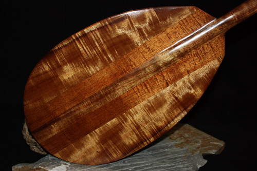 "Premium Stringers Koa Paddle 50"" T-Handle - Made In Hawaii 2"
