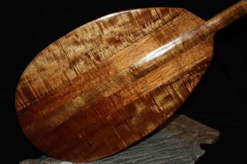 "Premium Stringers Koa Paddle 50"" T-Handle - Made In Hawaii 3"