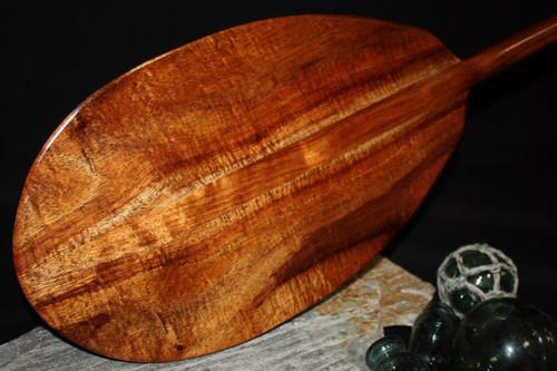 """Premium Hawaiian Koa Paddle 50"""" T-Handle - Made In Hawaii 6"""