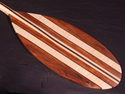 PREMIUM KOA-MAPLE-WALNUT PADDLE 5.1FT - CLASSIC SURF ART DECOR 6