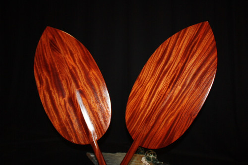 "Matching Pair Of Alii Design Paddles 72"" - Made in Hawaii 