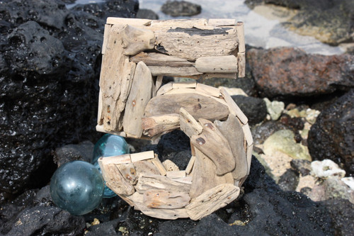 """5"" Driftwood Number 10"" Home Decor"