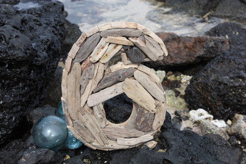 """6"" Driftwood Number 10"" Home Decor"