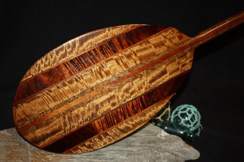 "Exquisite Koa Paddle w/ Inlay 60"" Oahu Built | #koa4413"