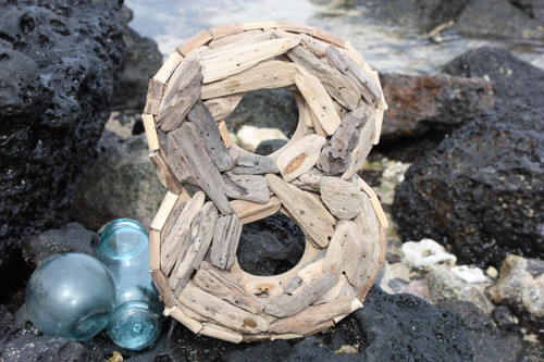 """8"" Driftwood Number 10"" Home Decor"