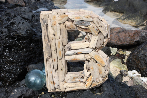 """B"" Driftwood Letter 10"" Home Decor"