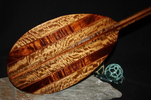 "Exquisite Koa Paddle w/ Inlay 60"" Oahu Built | #koa4416"