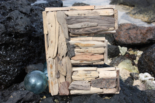 """E"" Driftwood Letter 10"" Home Decor"