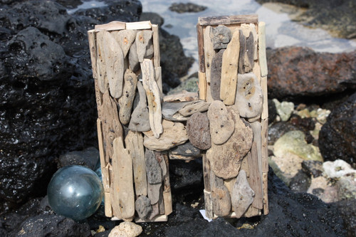 """H"" Driftwood Letter 10"" Home Decor"