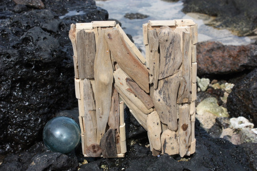 """N"" Driftwood Letter 10"" Home Decor"