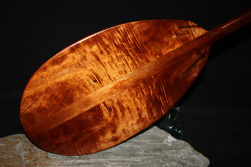 "Curly Blonde Koa Paddle 60"" Steersman HI Built | #koa4288"