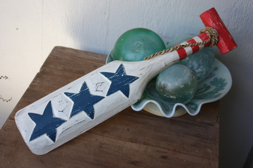 "Americana Oar/Paddle 20"" - USA Flag Theme"
