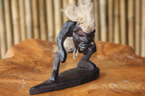 "CRAZY TIKI DUDE ""SURFING"" - PRIMITIVE DECOR"
