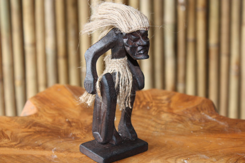 "CRAZY TIKI DUDE ""SURF BEACH STAND"" - PRIMITIVE DECOR"