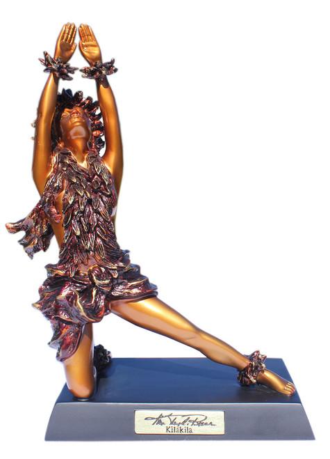 """Kilakila"" Hawaiian Hula Dancer Statue - Kim Taylor Reece"