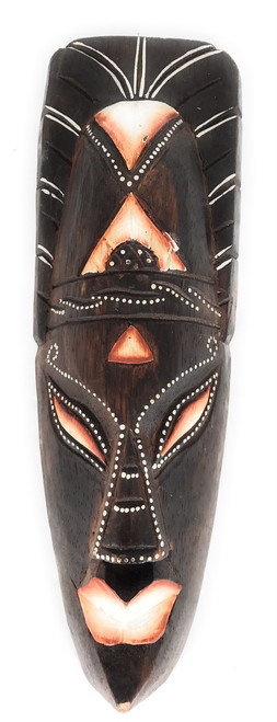 "Tribal Chief Tiki Mask 12"" - Primitive Art 