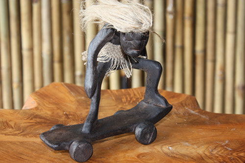 "CRAZY DUDE ""SKATEBOARDING"" - TIKI GIFTS"