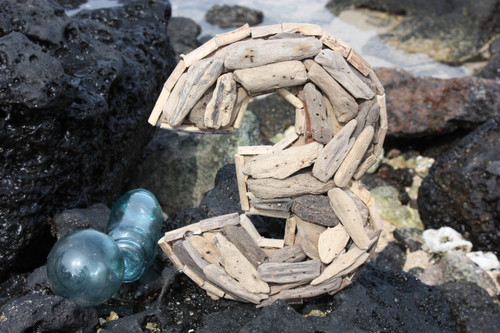 """""""3"""" Driftwood Number 10"""" Home Decor"""