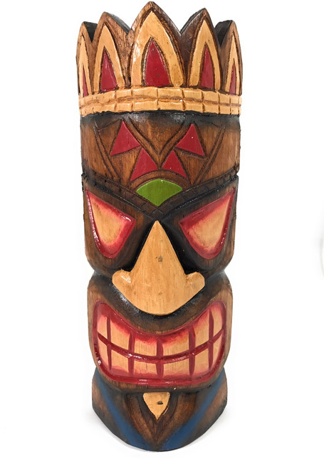 "Money Tiki Mask 12"" - Hawaiian Decor 